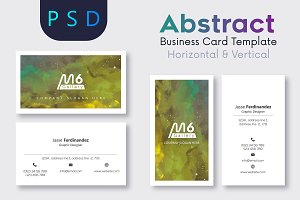 Abstract Business Card Template- S03