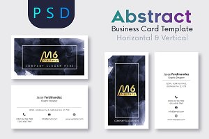 Abstract Business Card Template- S04