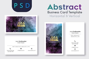 Abstract Business Card Template- S05