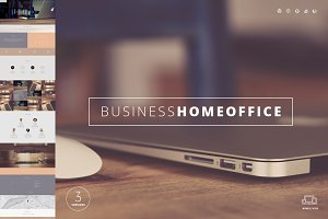 Home Office One Page Template
