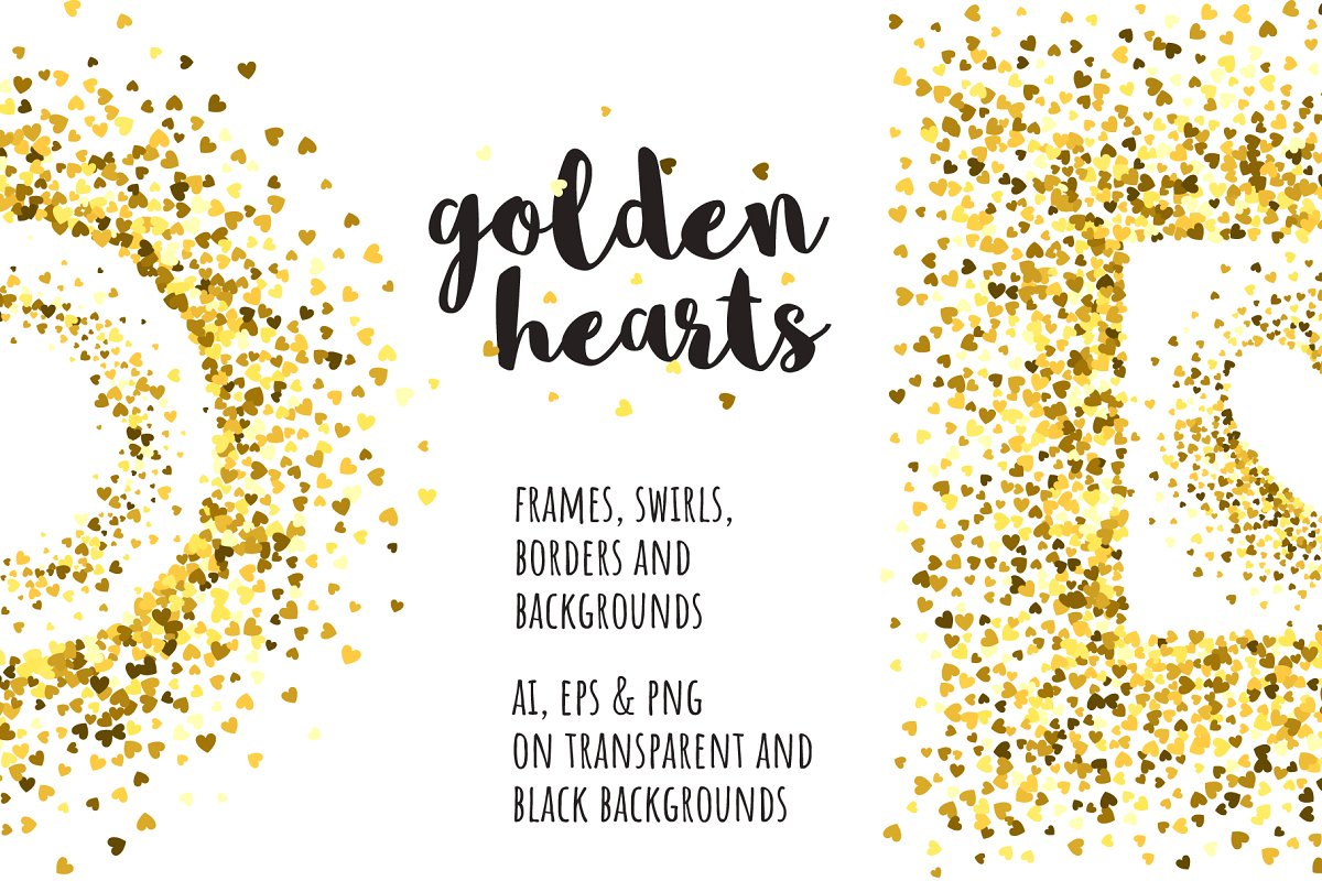 Golden hearts collection