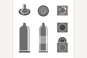 Condoms Pictograms