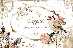Watercolor collection - Legend