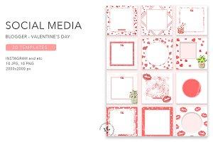 Blogger | Valentine's Day