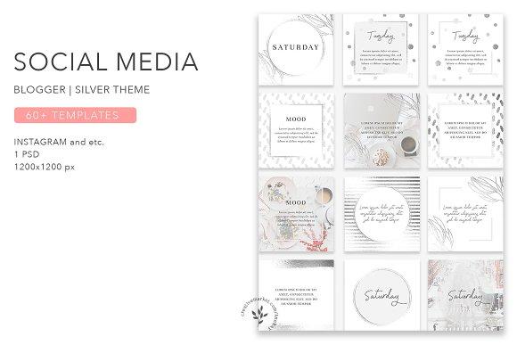 Blogger | Silver Theme