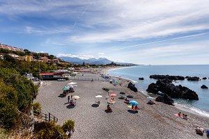 Beach at Scalea, Italy