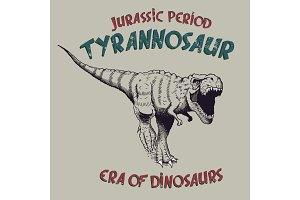 tyrannosaurus rex angry predator