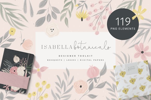Isabella Botanicals Kit