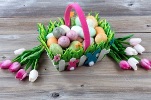 Carry Basket for Easter