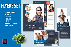 InDesign Flyers set