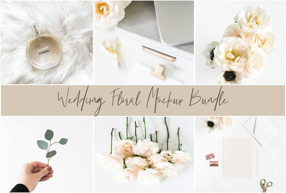 Wedding Mockup Floral Bundle
