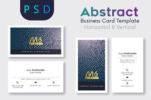 Abstract Business Card Template- S09