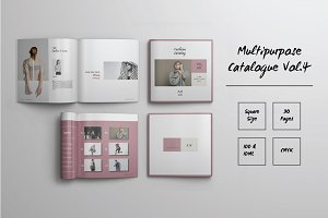 Multipurpose Catalog Template Vol.4