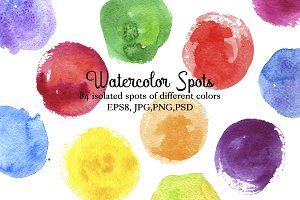 Watercolor Spots