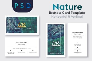 Nature Business Card Template- S11