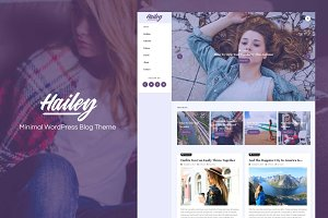 Hailey-Minimal WordPress Blog Theme