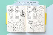 Travel planning kit