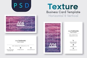 Texture Business Card Template- S15