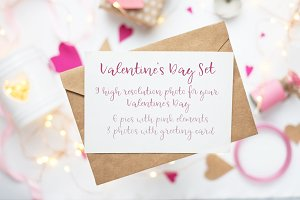 Valentines invitation card and other
