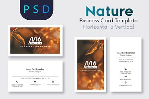 Nature Business Card Template- S20