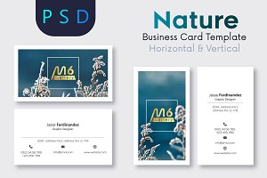 Nature Business Card Template- S19
