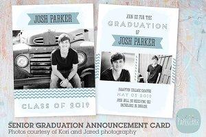 AG001 Guys Senior Graduation Card