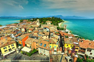 Sirmione tourist resort, Italy
