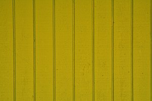 Wooden planks of yellow color
