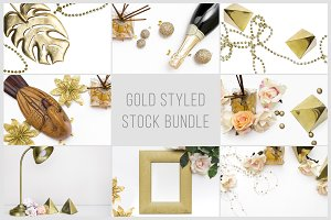 Gold Styled Stock Bundle