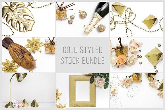 Gold Styled Stock Bundle
