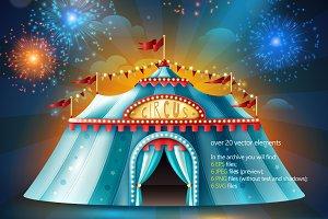 Circus Tent Set