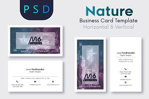 Nature Business Card Template- S18