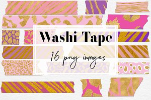 Animal Print Washi Tape