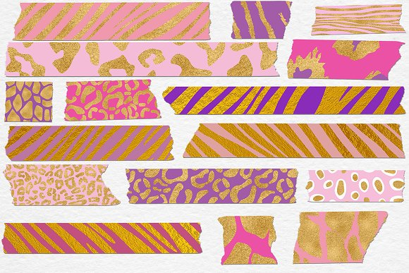 Animal Print Washi Tape in Graphics - product preview 1