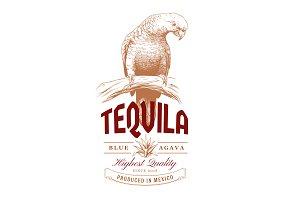 Tequila Vintage Logo