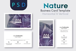 Nature Business Card Template- S17