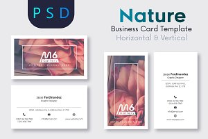 Nature Business Card Template- S16