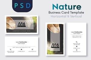 Nature Business Card Template- S21