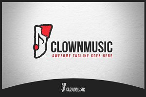 Clownmusic Logo