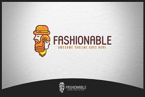 Fashionable Logo