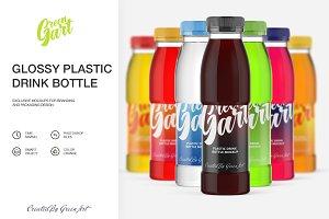7 PSD plastic drink mockup