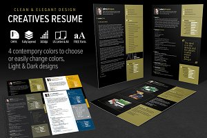 Creatives Resume Set