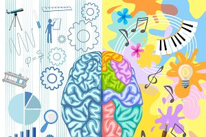 Creative Brain Composition