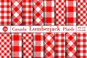 Lumberjack Canada Color Plaid