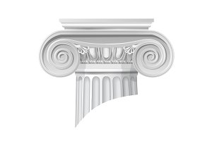 classical order ionic capital
