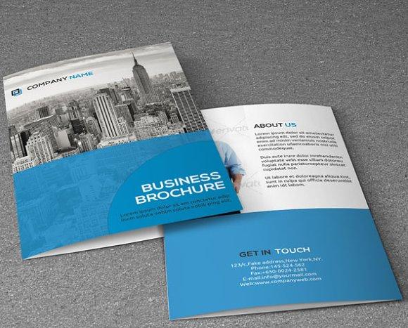 Corporate Brochure-v92 ~ Brochure Templates ~ Creative Market