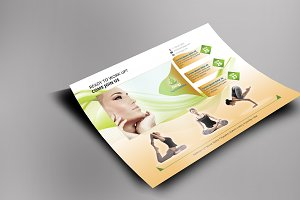 Meditation and Yoga Flyer Templates