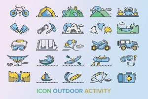 48 Outdoor Activity Icon