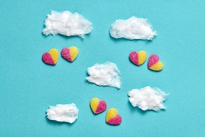 Candies Sweets Hearts