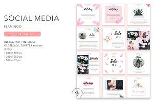 Flamingo | Social Media Pack